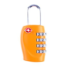 Digit Tools Canada - NEW Model Locksmith Tools 4 Digit Resettable Combination Red Color Suitcase Customs Safe Travel Luggage Code Lock