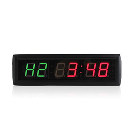 $enCountryForm.capitalKeyWord UK - [GANXIN]New 1.8'' LED Interval Fitness timer GYM Garage timer Wall Clock For MMA Box Tabata Crossfit Timer