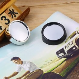 vehicle blind spot mirrors 2019 - Auto Side 360 Wide Angle Round Convex Mirror Car Vehicle Blind Spot Dead Zone Mirror RearView Mirror Small Round Mirror