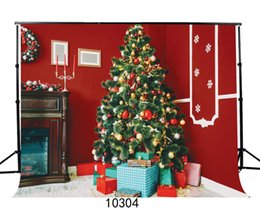 Background Paintings NZ - Christmas 7X5ft camera fotografica backdrops vinyl cloth photography backgrounds wedding children baby backdrop for photo studio 10304