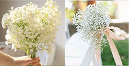 New Arrive Gypsophila Baby's Breath Artificial Fake Silk Flowers Plant Home Wedding Decoration 400pcs DHL FEDEX Free Shipping from fake vine foliage suppliers