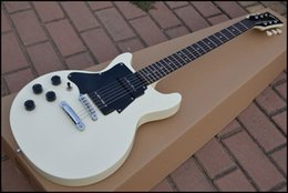 Black s guitar online shopping - Left Handed Custom Shop s Junior Double Cutaway Cream Electric Guitar China Musical Instruments Black Pickguard
