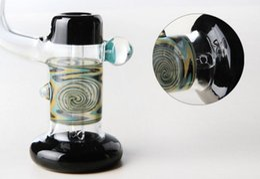 Nouveau Coloré Épais Verre Fumer le tuyau Sherlock Bubbler Tuyau D'eau Avec Haute 16 cm Pipes En Verre À Main Bubbler Pipe À Huile Verre Pipes Livraison Gratuite en Solde