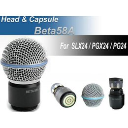 $enCountryForm.capitalKeyWord Canada - Safe Free shipping wireless microphone handheld MIC head capsule grill for PGX24   SLX24   Beta58a microphone best