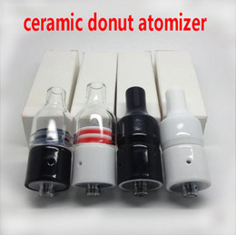 $enCountryForm.capitalKeyWord Australia - Huge Vapor Full Ceramic Wax Atomizer glass ceramic Donut wickless Herbal Pyrex Vaporizer 22mm Atomizer 510 e cigarette vape pen Mod Tank