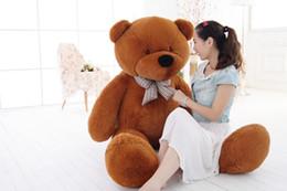 $enCountryForm.capitalKeyWord Canada - 160cm GIANT HUGE BIG brown TEDDY BEAR Stuffed PLUSH SOFT TOYS DOLL Valentine GIFT