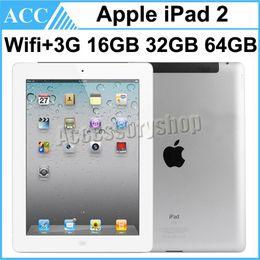 $enCountryForm.capitalKeyWord Canada - Refurbished Original Apple iPad 2 WIFI + 3G Cellular 9.7 inch 16GB 32GB 64GB IOS Dual Core 1GHz A5 Chipset Tablet PC DHL 1pcs