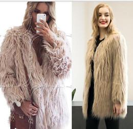 Discount Hot Pink Faux Fur Coat | 2017 Hot Pink Faux Fur Coat on ...