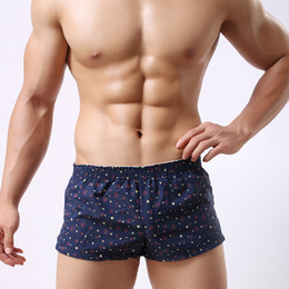 $enCountryForm.capitalKeyWord Canada - Fast shipping underwear boxer men cotton boxer short in men casual men short nice package by soutong brand std05