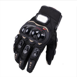 racing hand gloves UK - Professional Auto Racing Gloves Men Motorcycle New Gloves Protect Hands Full Finger Women Breathe Patchwork Flexible Glove