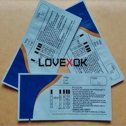 Vente en gros Nouveau style Accueil Test THC Test de bande de drogue 50 PCS / Lot 3.0mm Certificat FDA Livraison Express Express rapide