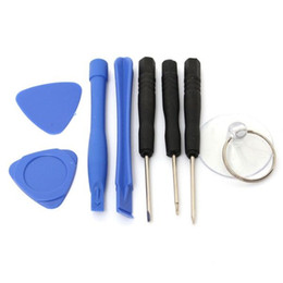 Chinese  Cell Phone Reparing tools 8 in 1 Repair Pry Kit Opening Tools Pentalobe Torx Slotted screwdriver For iPhone 4 4S 5 5s 6 moblie phone manufacturers