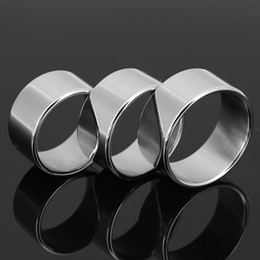 glans cock rings for penis UK - Men Penis Small Delay Ring Metal Cock Ring Stainless Steel Cockring Glans Penis Delay Ejaculation Ring Sex Toys For Men Ball Stretcher