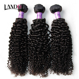 Chinese  Peruvian Curly Hair Unprocessed Peruvian Kinky Curly Human Hair Weave 3Bundles Lot 8A Grade Peruvian Jerry Curl Hair Extension Natural Color manufacturers