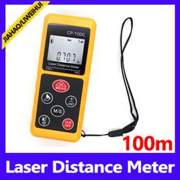 Laser Measurement Canada - Portable Distance Meter 100m Area Measurement Instrument Laser Digital Distance Meter MOQ=1 free shipping