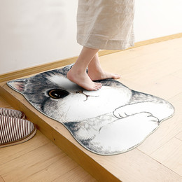 Kawaii Welcome Floor Mats Animal Dog Cat Shape Bathroom Kitchen Rugs And  Carpets Doormats Cat Floor Mat For Living Room Anti Slip Tapete Part 93