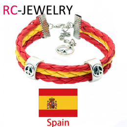 $enCountryForm.capitalKeyWord Australia - 21# Spain National World Cup Football Fans Sports wristbands souvenirsTeam Logo WorldCup Sport Bracelet