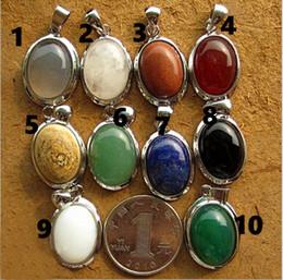 Doğal taş kolye Kristal Kumları akik taş lapis lazuli mavi kum siyah oniks kolye Avrupa ve Amerikan moda çeşitli
