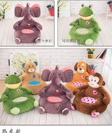 green toys days Canada - Single small children sofa plush toys cartoon lazy baby tatami can unpick and wash Valentine's Day gift  Birthday gifts  New Year's gift