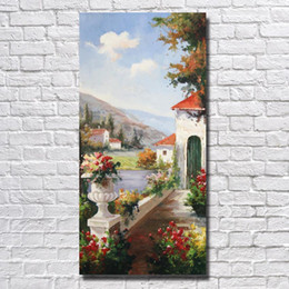 $enCountryForm.capitalKeyWord Canada - Hand made Landscape Wall Pictures for Living Room Decor Nice Oil Painting Wall Art Home Decor