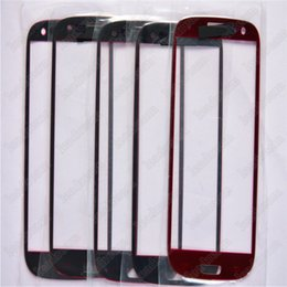 Wholesale galaxy s3 covers resale online - Front Outer Touch Screen Glass Cover Replacement for Samsung Galaxy s3 i9300 Free DHL