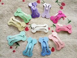 Dog Grooming Hair Clip Australia - 2016 New Candy pure color 11 color Pet BB 2.5 cm bone clip  pet tire headdress flower gift Dogs hair accessories hairpin