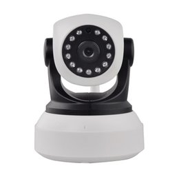 P2p Network Camera Canada - CCTV Camera High Quality HD 720P Wireless IP Camera Wifi Night Vision Camera IP Network Camera CCTV WIFI P2P Onvif IP Camera
