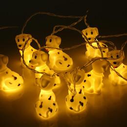 discount dog christmas lights christmas holiday led decoration light dog string light kids room deocr