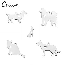 Barato Novo Cão Chegada-New Arrivals Cute Small Animal Metal Charm Pendant For Bracelet Necklace Earrings Different Style Dog Charms Making Jewelry Supplies