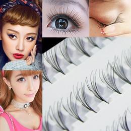 EyElash ExtEnsions trays online shopping - Popular Black mm mm mm Individual False Eyelash Cluster Eye Lashes Extension Tray For Make up