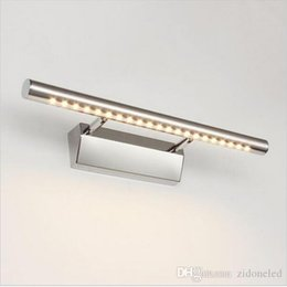 Bathroom vanity wall sconces suppliers best bathroom vanity wall led mirror lamp bathroom vanity lights with switch wall sconces bathroom lighting lampara de pared up down lamps 5w 40cm aloadofball Image collections