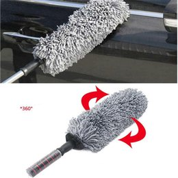 Chinese  Wholesale- 2017 Round Car Cleaning Wash Brush Dusting Tool Large Microfiber Telescoping Duster high quality ca-styling manufacturers