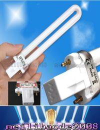 9w uv gel bulb online shopping - 9W UV Replacement Light Bulb Tube for w UV Nail Curing Lamp nm Dryer Light UV Gel Machine Lamp Light MYY191