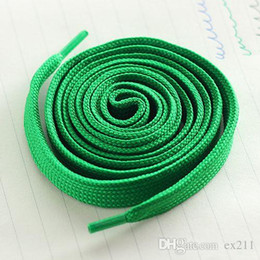 Hair Board Canada - 7 color shoelaces Canvas laces Sports Shoelace Board Shoelace Shoe Accessories Flat thickening of pure cotton lace 1.1 meters free shipping