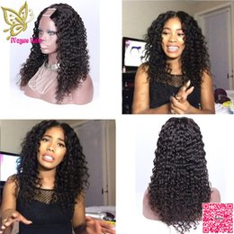 upart human hair wig curly 2019 - Peruvian Human Hair U Part Wigs Loose Curly UPart Human Hair Wig Unprocess Hair Middle Part For Black Women discount upa