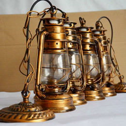 $enCountryForm.capitalKeyWord Canada - Retro Vintage lantern bronze ceiling Pendant Lamp E27 Lights Loft Restaurant Master Bedroom Dining living room kitchen bar cafe