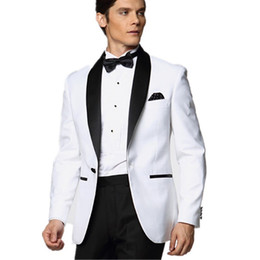 Discount Prom Suits Black White Bow Ties | 2017 Prom Suits Black ...