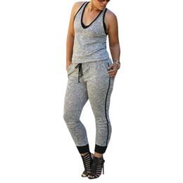 Sport Pants Wholesale NZ - Wholesale-Top Selling For Women Bandage Bodycon Jumpsuit Sexy Long Playsuit Rompers Sport Pants Clubwear