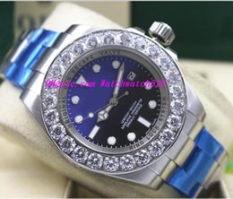 $enCountryForm.capitalKeyWord NZ - Luxury Wristwatch 'James Cameron' Blue Black 116660 44mm Dive Watch Bigger Diamond Ceramic Bezel Automatic Mechanical Men Watches
