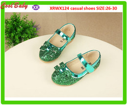 $enCountryForm.capitalKeyWord Canada - Girls Shoes 2016 Spring Summer New Korean Girl Fashion Trend Breathable Princess Casual Sequins Shoes 26-30 Size For 6-10years Kids 4colors