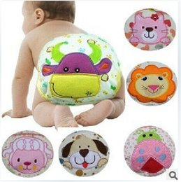 Washable Cotton Nappy Canada - Cartoon Cotton Baby Learning Pants Training Pants 3-layer Leak-proof Waterproof Baby PP Pants Washable Underwears Diaper Cover 10pcs B512