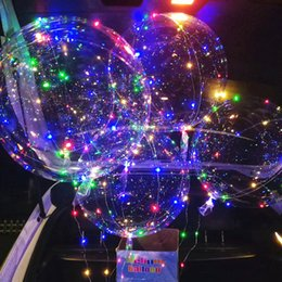 $enCountryForm.capitalKeyWord NZ - New bobo ball wave led line string balloon light with battery for Christmas Halloween Wedding Party children home Decoration