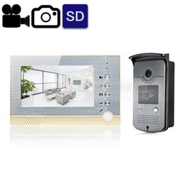 $enCountryForm.capitalKeyWord Canada - Video Record   Photograph 7 inch Wired Video Door Phone Intercom Home Security System RFID Camera LED Night Vision