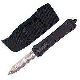 China Allvin Manufacture A162 Auto Tactical knife 440C Double Action Spear Point Blade EDC Gear With Plastic Box Package Best Xmas Gift supplier plastic self packaging suppliers
