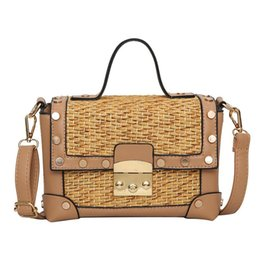 Leather Straw Beach Bags Online | Leather Straw Beach Bags for Sale
