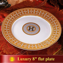Porcelana placas planas osso china