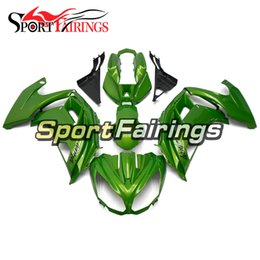 kawasaki body kits Australia - Complete Fairing Kit For Kawasaki ER-6f Ninja 650 12 13 14 15 ER6f 2012 - 2015 ABS Plastic Motorcycle Fairing Kit Body Frames Gloss Green
