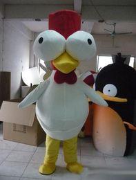 Super deluxe mascot chicken adult costume