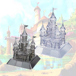 3d Castles Canada - New Arrival 3D Crystal Puzzles Blocks Castle Educational Toys Christmas Kid's Present New Year Gift