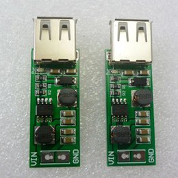 6v dc power supply Canada - 2pcs 1-6V to 5V Boost Buck DC-DC Step Up Down Converter usb power supply for 18650 solar panel